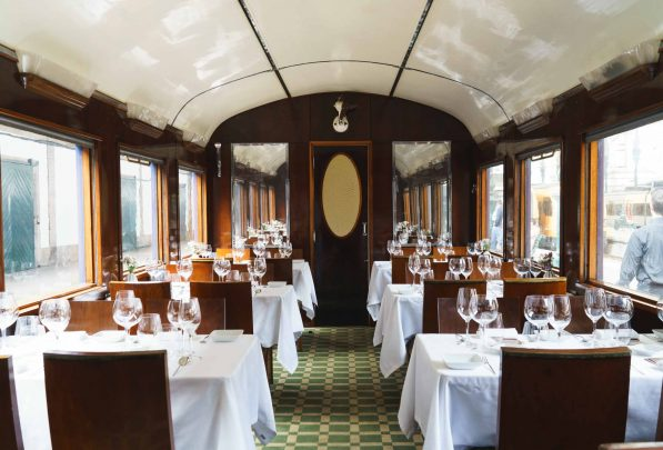 The Presidential Train Dining Carriage